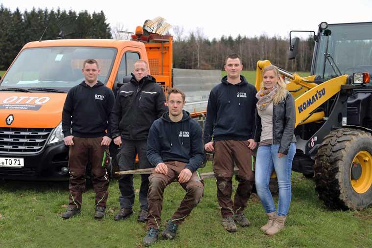 Landschaftsbau lohnarbeiten erntearbeiten kehrdienst for Gartengestaltung jordan