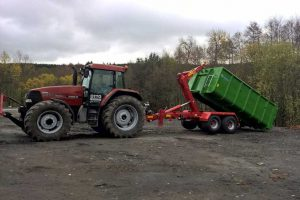 Schüttguttransporte mit Containerwechselsystem